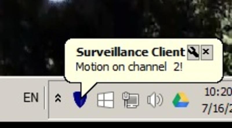 Client in Taskbar